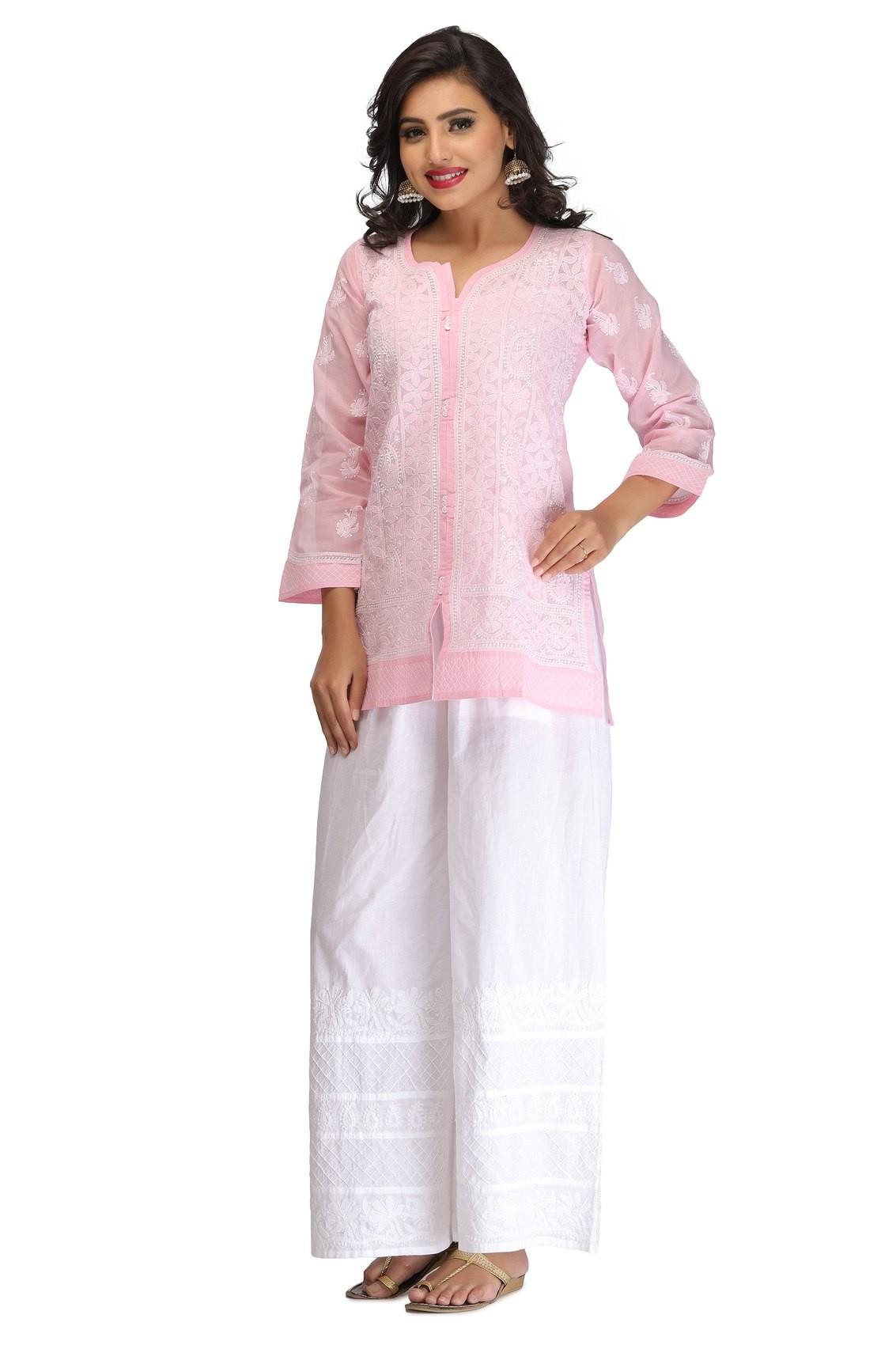 Chikankari wear