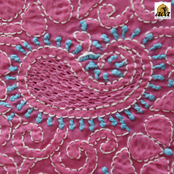 Jaali stitch of Lucknowi Chikankari